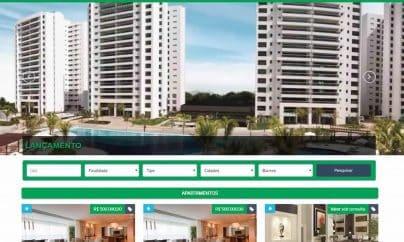 Template para imobiliária