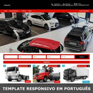 Template Wordpress venda de carros