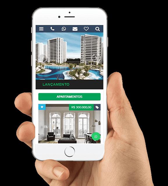 WordPress para imobiliária - Template Responsivo em Português